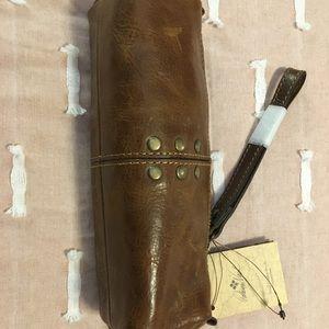 Patricia Nash Cognac Leather Case